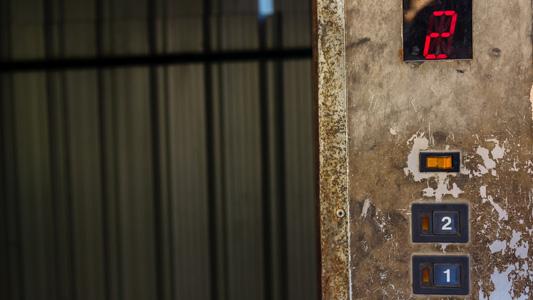 Dirty elevator safety risk